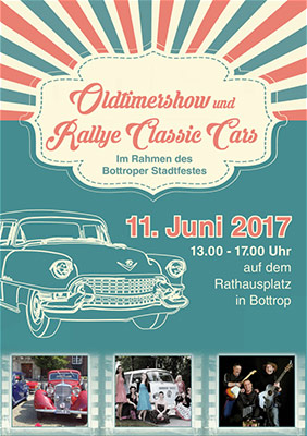Oldtimer-Show Classic Cars am 11. Juni 2017